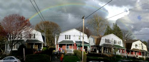 Rainbow over narberth