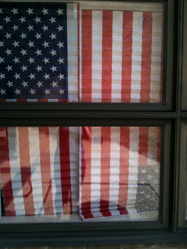 Flag blinds