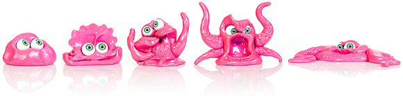 Putty monsters